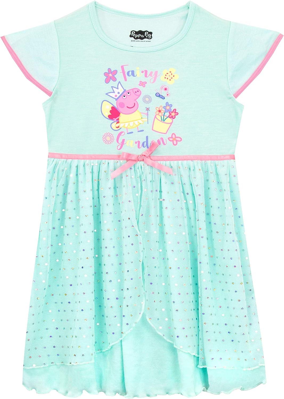 Minnie Mouse M/ädchen-Nachthemd Baumwolle