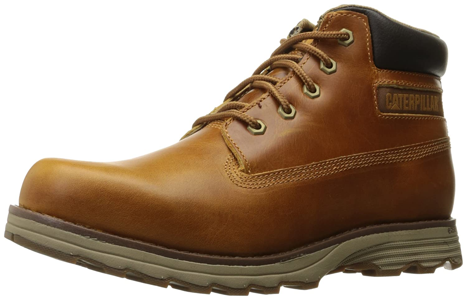 Caterpillar Founder Mens Leather Ankle Boots Brown [並行輸入品] B01BDTCA0Y 11.5 D(M) US|Artisan Gold Artisan Gold 11.5 D(M) US