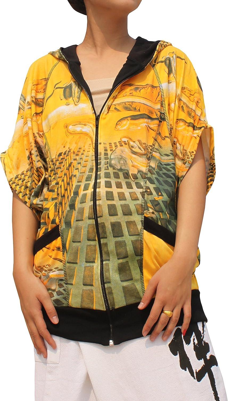 RaanPahMuang Salvadore Dali Disintegration of Memory Butterfly Wing Jacket Hoody