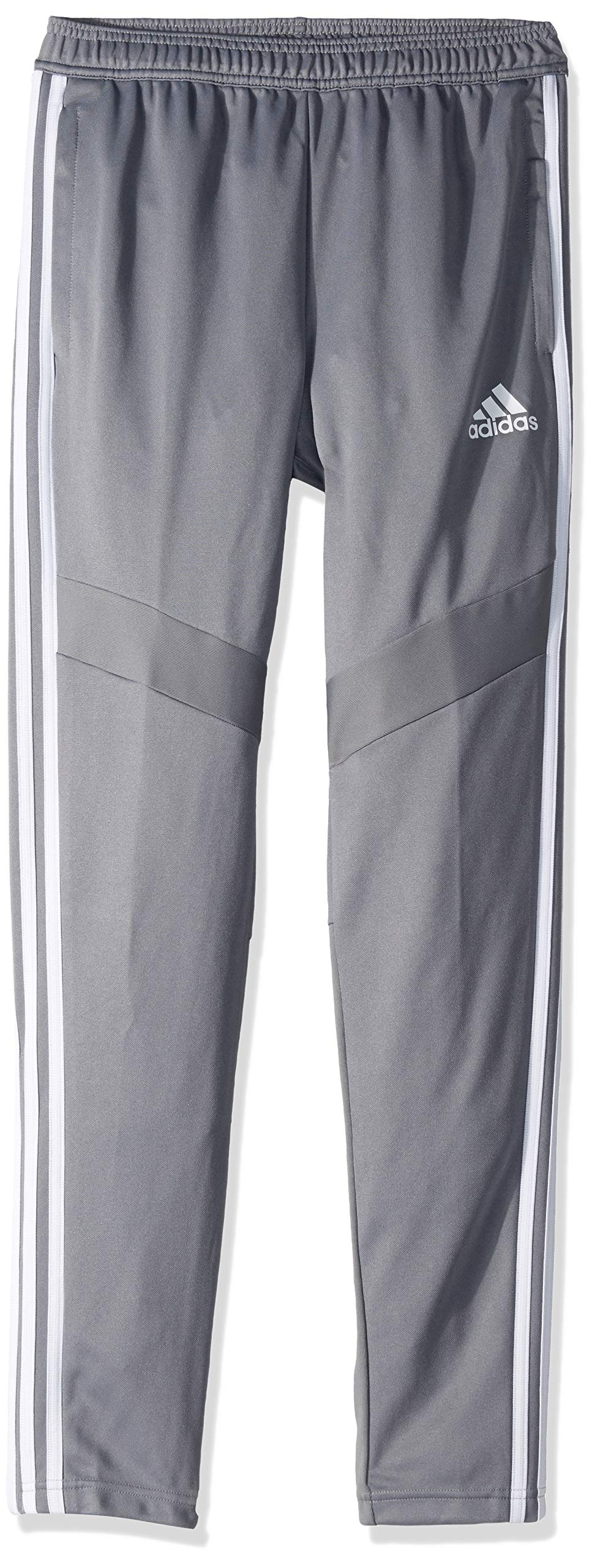 adidas Youth Tiro19 Youth Training Pants, Grey/White, Small