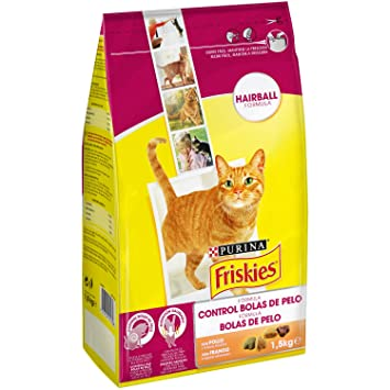 Friskies Bolas de Pelo Alimento Completo para Gato - 1500 g: Amazon.es: Amazon Pantry