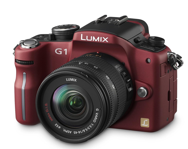 Panasonic Lumix DMC-G1K - Cámara Réflex Digital 13.1 MP (Objetivo ...