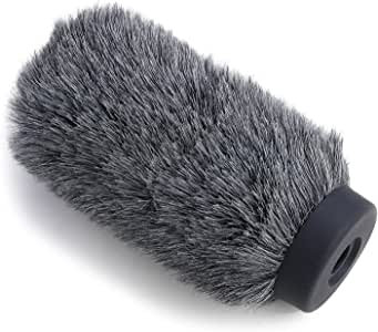 "NTG4+ Microphone Windscreen - Windmuff for Rode NTG4 Plus Shotgun Microphones, WindShield Up to 6.3"" Long by YOUSHARES"