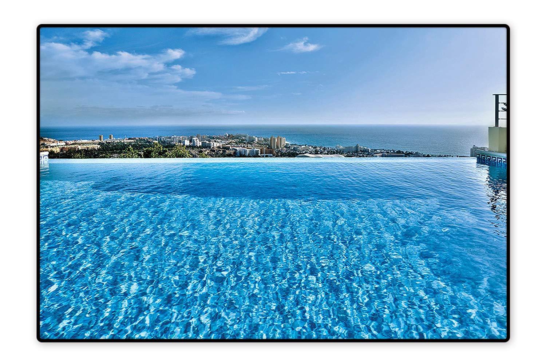 Amazon.com: Indoor/Outdoor Rug View from Infinity Swimming ...