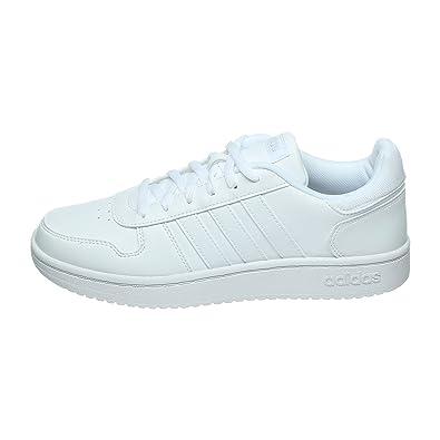 adidas Hoops W, Chaussures de Fitness Femme, Blanc Ftwbla