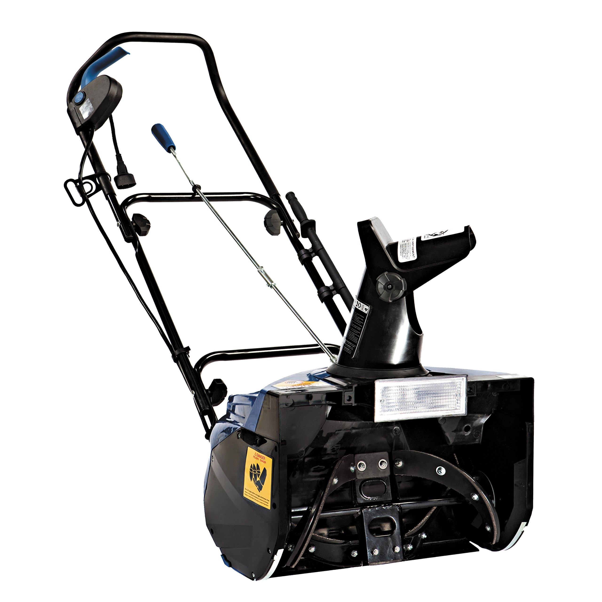 Snow Joe SJ623E-RM Electric Single Stage Snow Thrower | 18-Inch | 15 Amp Motor | Headlights (Renewed) by Snow Joe