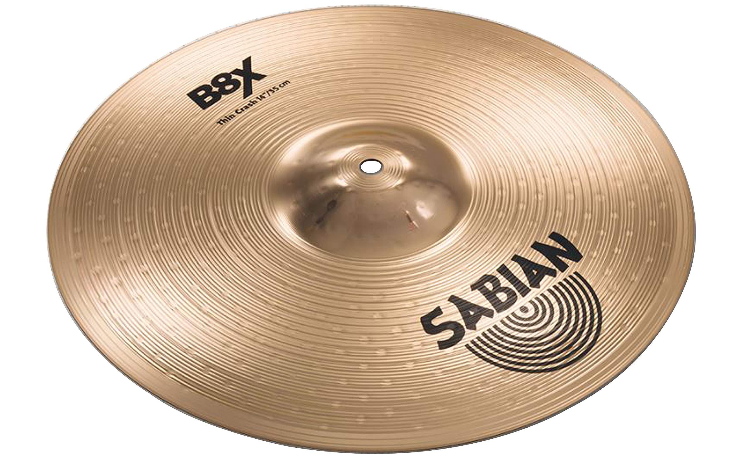 Sabian B8X 14'' Thin Crash Cymbal by Sabian