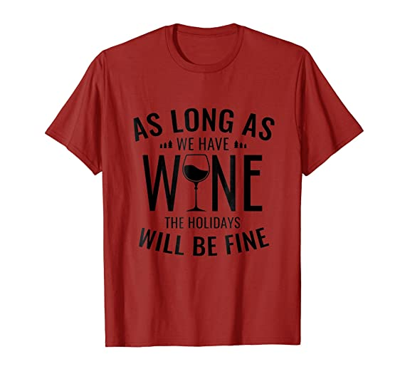mens funny merry christmas t shirt quote sayings wine lover tee 3xl cranberry