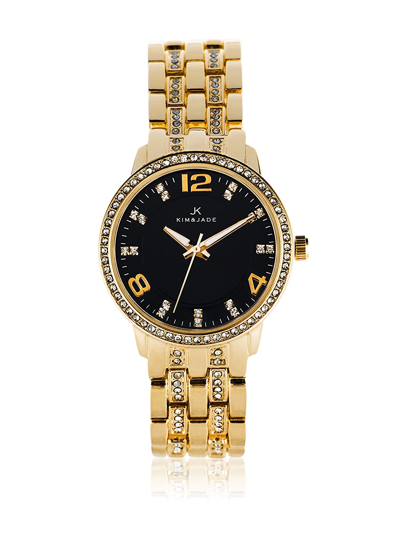 Kim & Jade 2031l2b Damen-Armbanduhr mit Swarovski-Kristallen