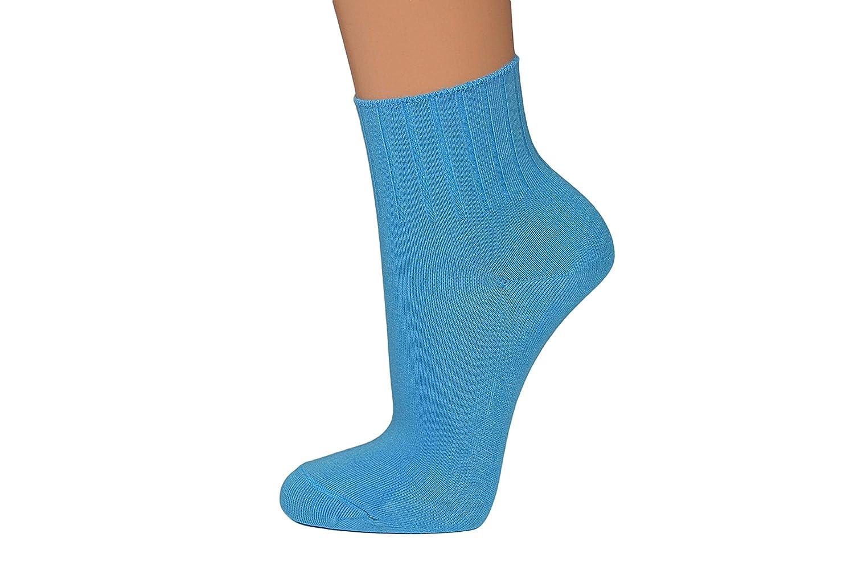 Nova 10 o 14 pares fina Mujer Wellness Zapatillas Calcetines, Calcetines, Calcetines en colores populares, comodidad cintura: Amazon.es: Ropa y accesorios