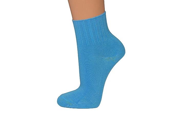 Nova 10 o 14 pares fina Mujer Wellness Zapatillas Calcetines, Calcetines, Calcetines en colores