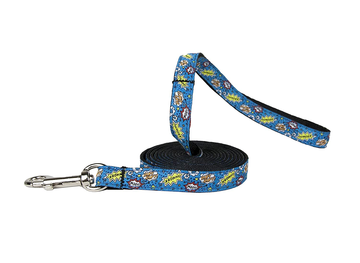 Pirate Cat 1//2-Inch by 6-Feet RC Pet Products Kitty Cat Leash