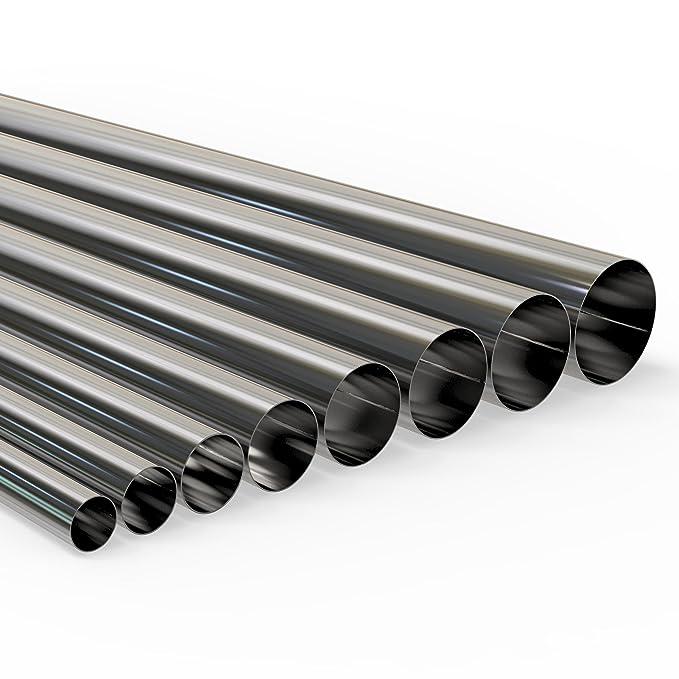 AUPROTEC Rohrbogen 90/° Universal Auspuffrohrbogen /Ø 38mm bis 65mm einseitig aufgeweitet Auswahl /Ø 65 mm