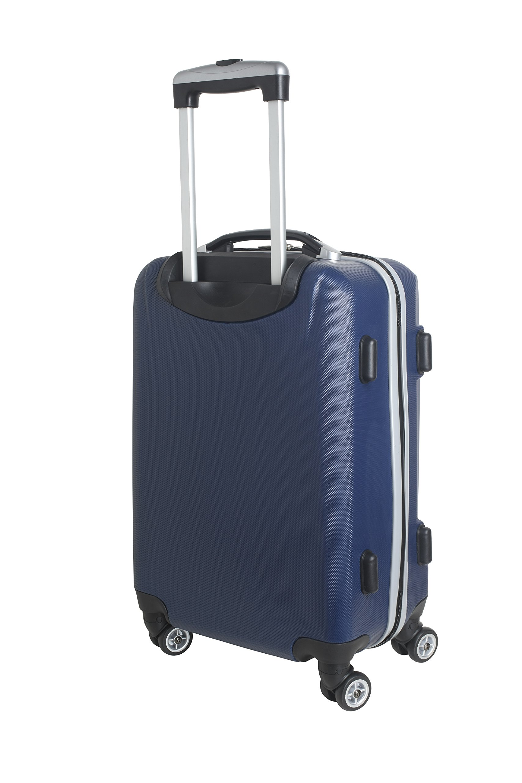 Denco NFL Indianapolis Colts Carry-On Hardcase Luggage Spinner, Navy by Denco (Image #4)