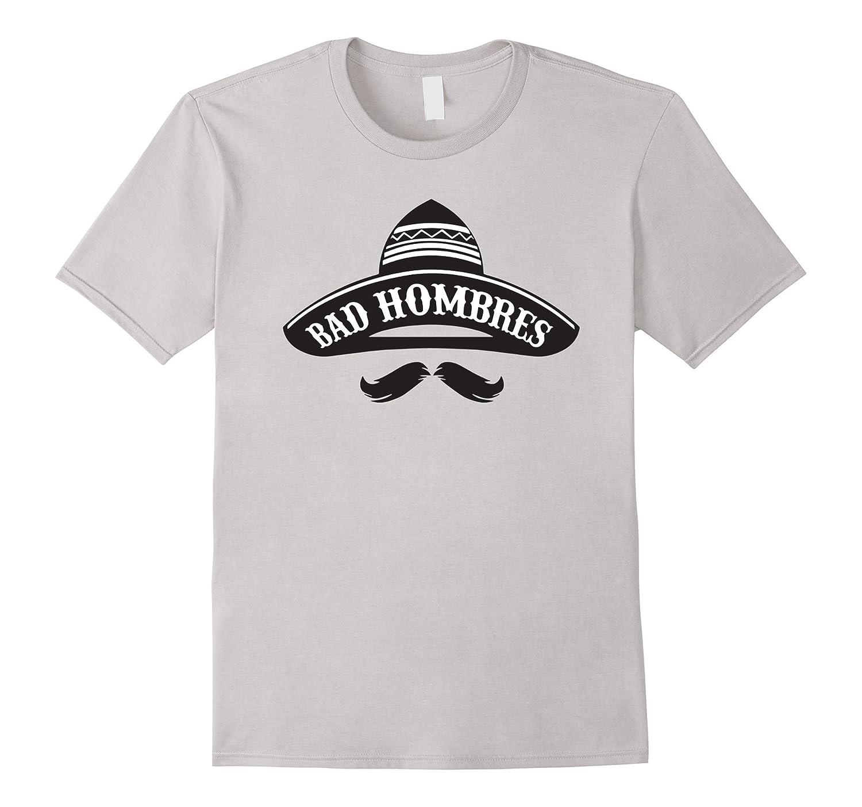 Men's Bad Hombre - President Debate T-Shirt-Art