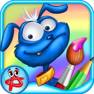 Evie & Ozzy: Coloring Book for kids