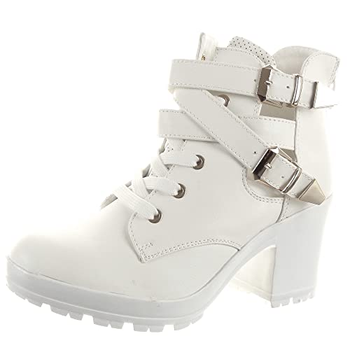 De Low Zapatillas Abierto Boots Moda Tobillo Botines Mujer Sopily q5ZTOwzz