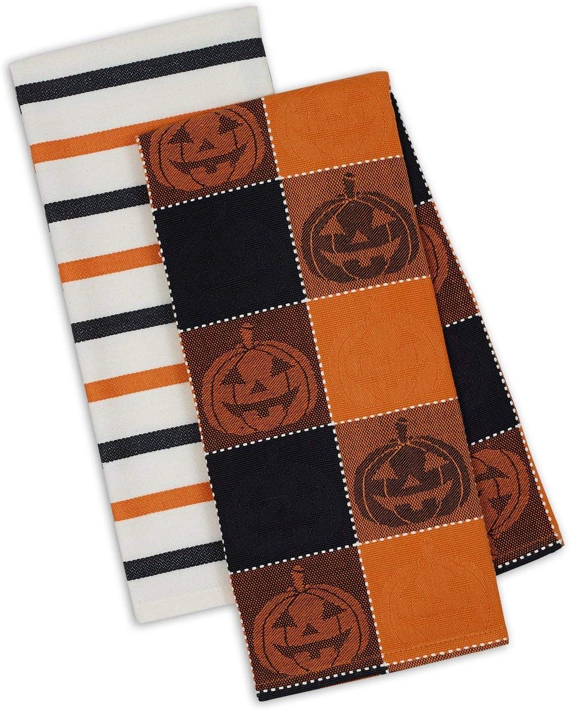Jack O Lantern Kitchen Towels
