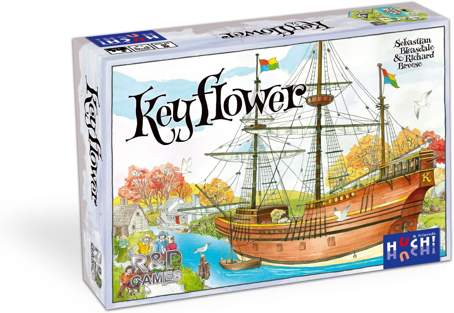R & D Games - Key Flower, Juego de Mesa [Importado]: Amazon.es ...