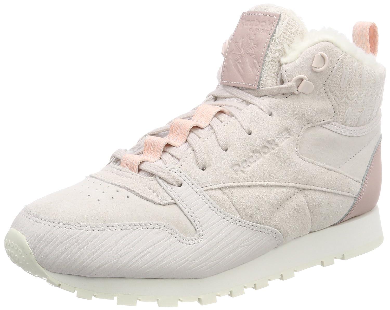 Reebok Damen Damen Reebok Cl Lthr Arctic Boot Fitnessschuhe Violett (Lilac Ash/Shell Pink/Peach Twist/Chalk) 9ba755