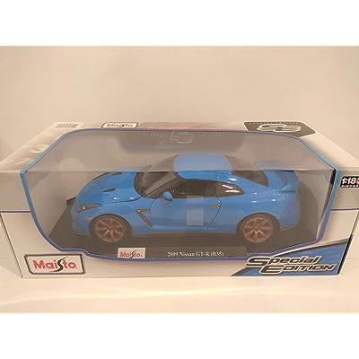 New DIECAST Toys CAR MAISTO 2009 GTR R35 1:18 Blue Color: Toys & Games