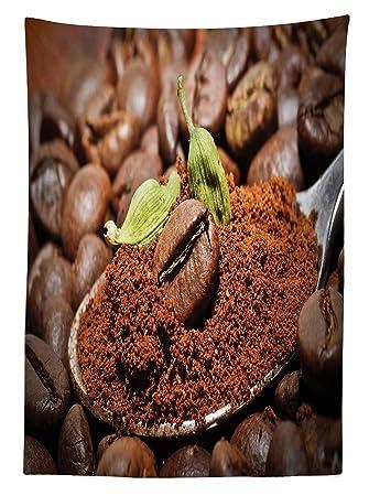 Yeuss Kaffee Tischdecke Von, Arabisch Bohnen Mit Nach Honig Mit Grün  Kardamom Traditioneller Orientalischer Drink