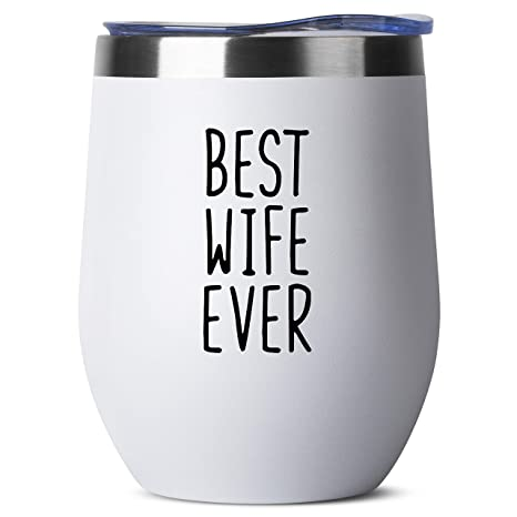 Amazon.com: Best Wife Ever – Regalos de cumpleaños para ...