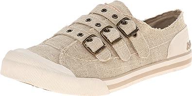 Jolissa Sandbag Linen Fashion Sneaker