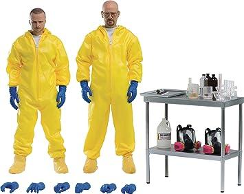 ThreeZero Breaking Bad: Heisenberg & Jesse Traje de protección Combo 1: 6 Escala Figura de acción