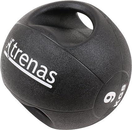 trenas Pro Balón Medicinal con Asas – 9 kg: Amazon.es: Deportes y ...