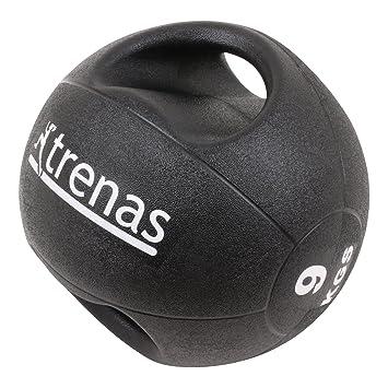 trenas Pro Balón Medicinal con Asas - 9 kg: Amazon.es: Deportes y ...