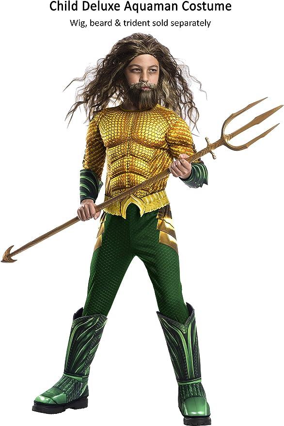 Avengers - Disfraz de Aquaman Premium, para niños, 3-4 años ...