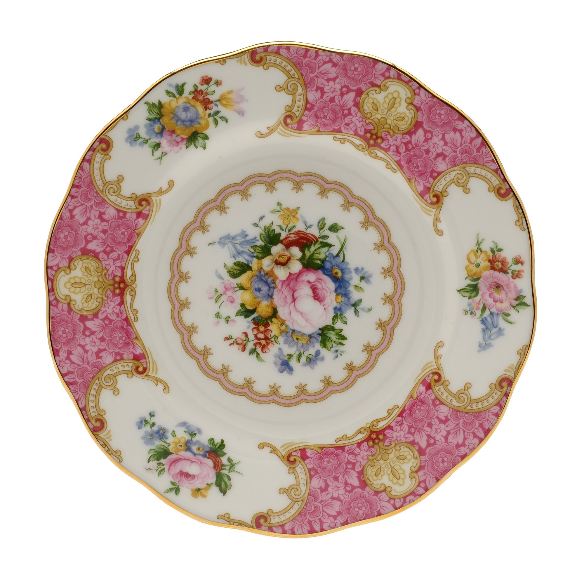 Royal Albert Lady Carlyle Tea Saucer 5-1/2-inches