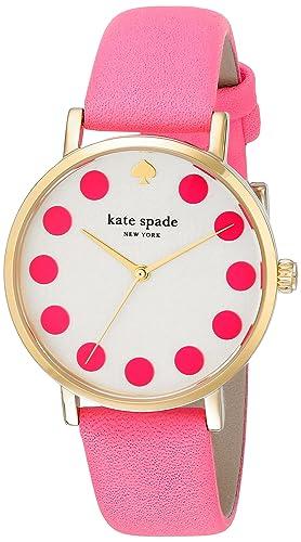 kate spade new york Women s 1YRU0770 Metro Dot Pink Watch