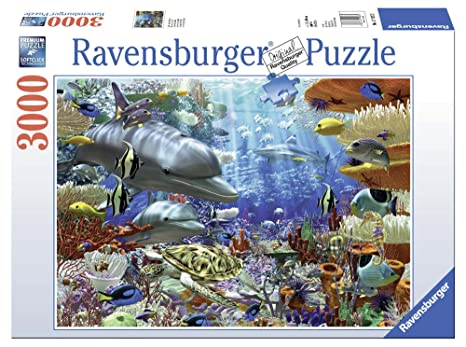 618b864d084 Ravensburger Oceanic Wonders 3000 Piece Jigsaw Puzzle for Adults -  Softclick Technology Means Pieces Fit Together