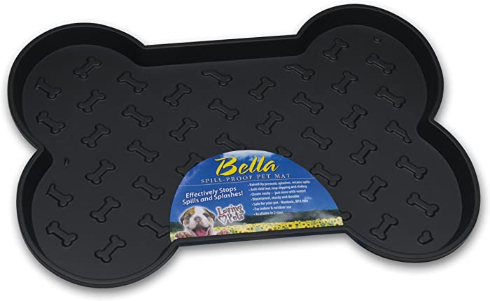 The Best Rubber Pet Food Dish Mat Spill Proof