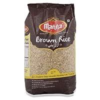 Manna Rice - Brown, 1kg Pouch