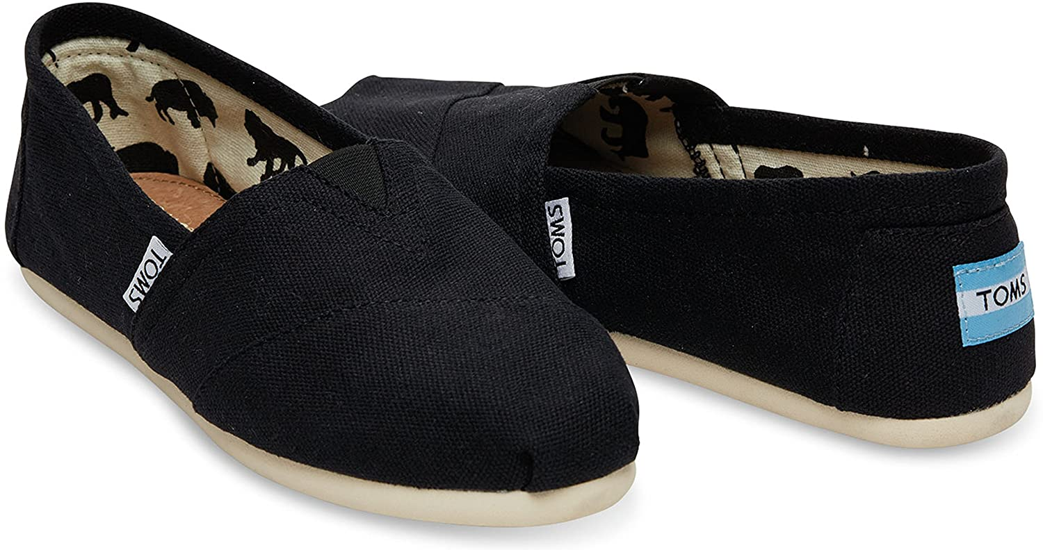 Canvas Slip-On f¨¹r Damen (8 5 B (M) US     39 EUR Schwarz) 55fed8