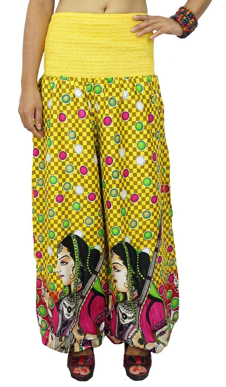 Harem Yoga Aladdin Pantalones Casual Hippie harem holgado ...