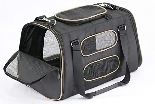 Gen7Pets-Commuter-Buckle-In-Car-Safety-Seat-and-Shoulder-Carrier-for-Dogs-and-Cats