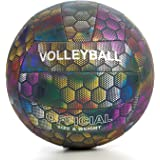 YANYODO Official Size 5 Volleyball, Soft Indoor Outdoor Volleyball for Game Gym Training Beach Play