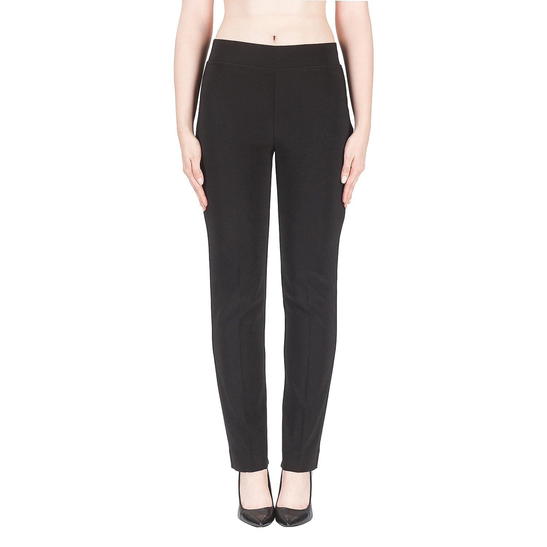 Joseph Ribkoff Black Elastic Waist Pull-On Pants Srtetch Style 143105X