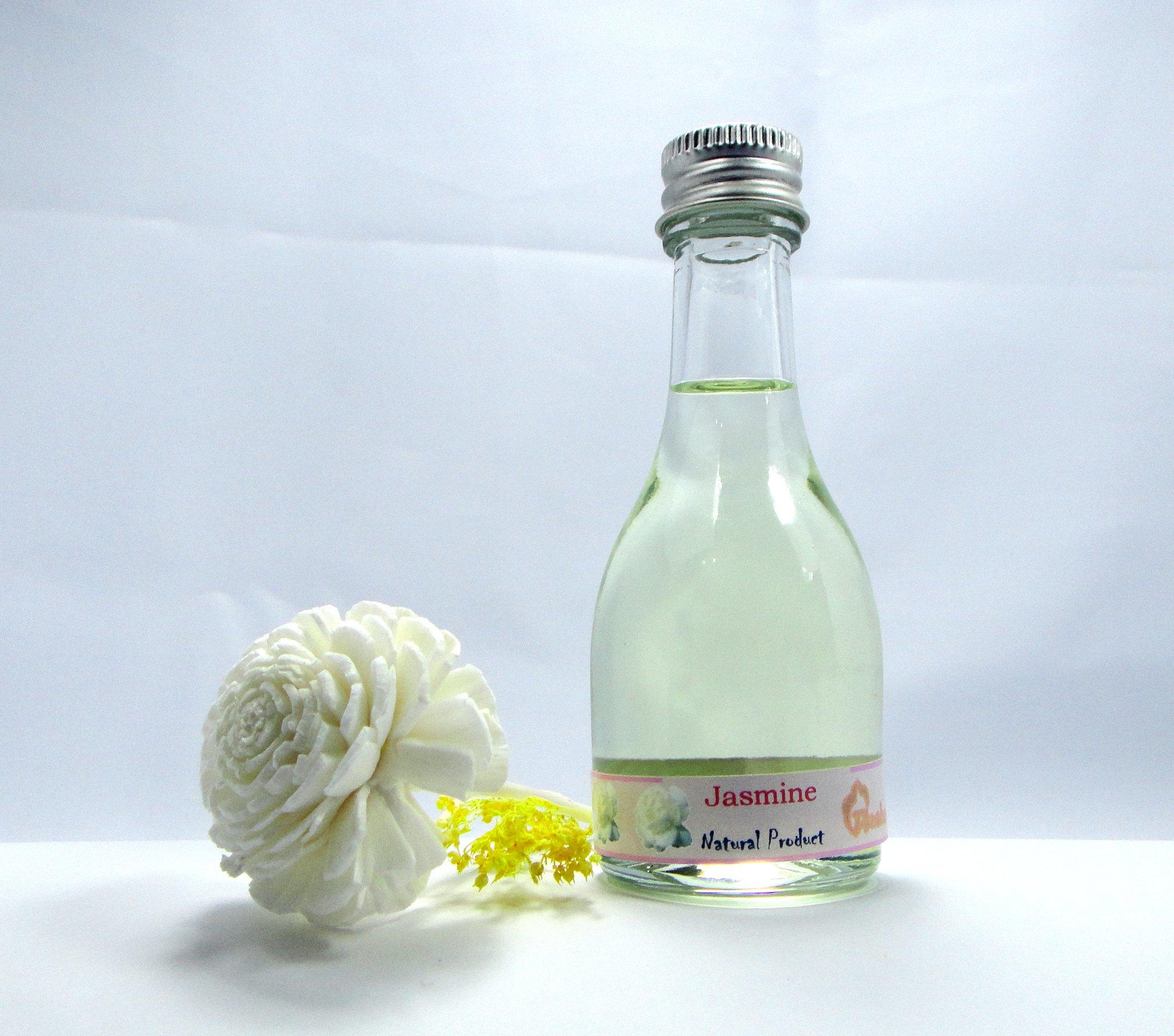 JASMINE Reed Diffuser Fragrance Essential Oil Reed Diffuser Jasmine Blossom 30 Ml./1 Oz. by Thailand