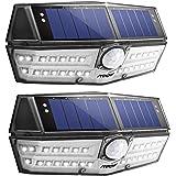 センサーライト ソーラーライト 屋外照明 人感ライト Mpow 30LED IPX6防水 太陽光発電 自動点灯 防犯ライト 玄関 庭 駐車場 2個セット 18ヶ月間安心保証 停電緊急対策 防災ライト 非常用ライト 地震 津波 台風 防災対応