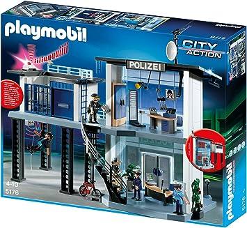 Playmobil 5176 - Stazione di Polizia con Allarme [Germania