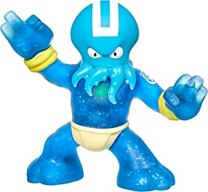 Heroes of Goo Jit Zu - Single Stretchy Octopus Action Figure, Hydro