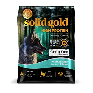 Solid Gold High Protein Grain-Free Cold Water Salmon