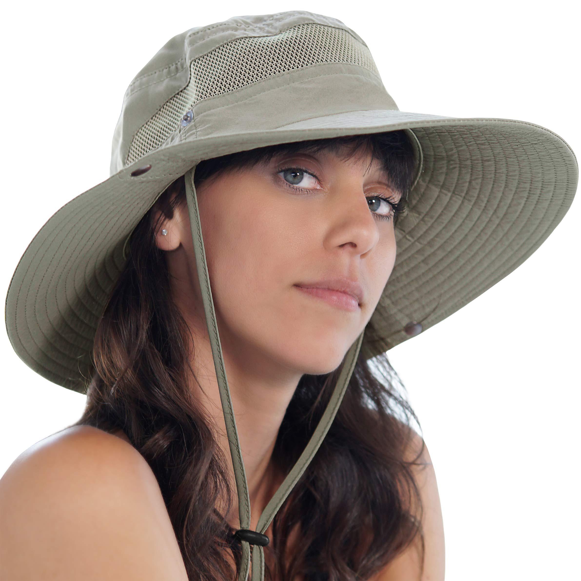GearTOP Fishing Hat (Khaki - 2 Pack) by GearTOP (Image #8)