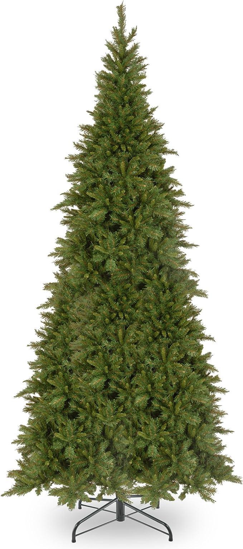 Amazon Com National Tree 10 Foot Tiffany Fir Slim Tree Tfslh 100 Ft Home Kitchen