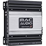 Mac Audio Edition S Two - Etapa de Potencia de 2 Canales, Color Negro